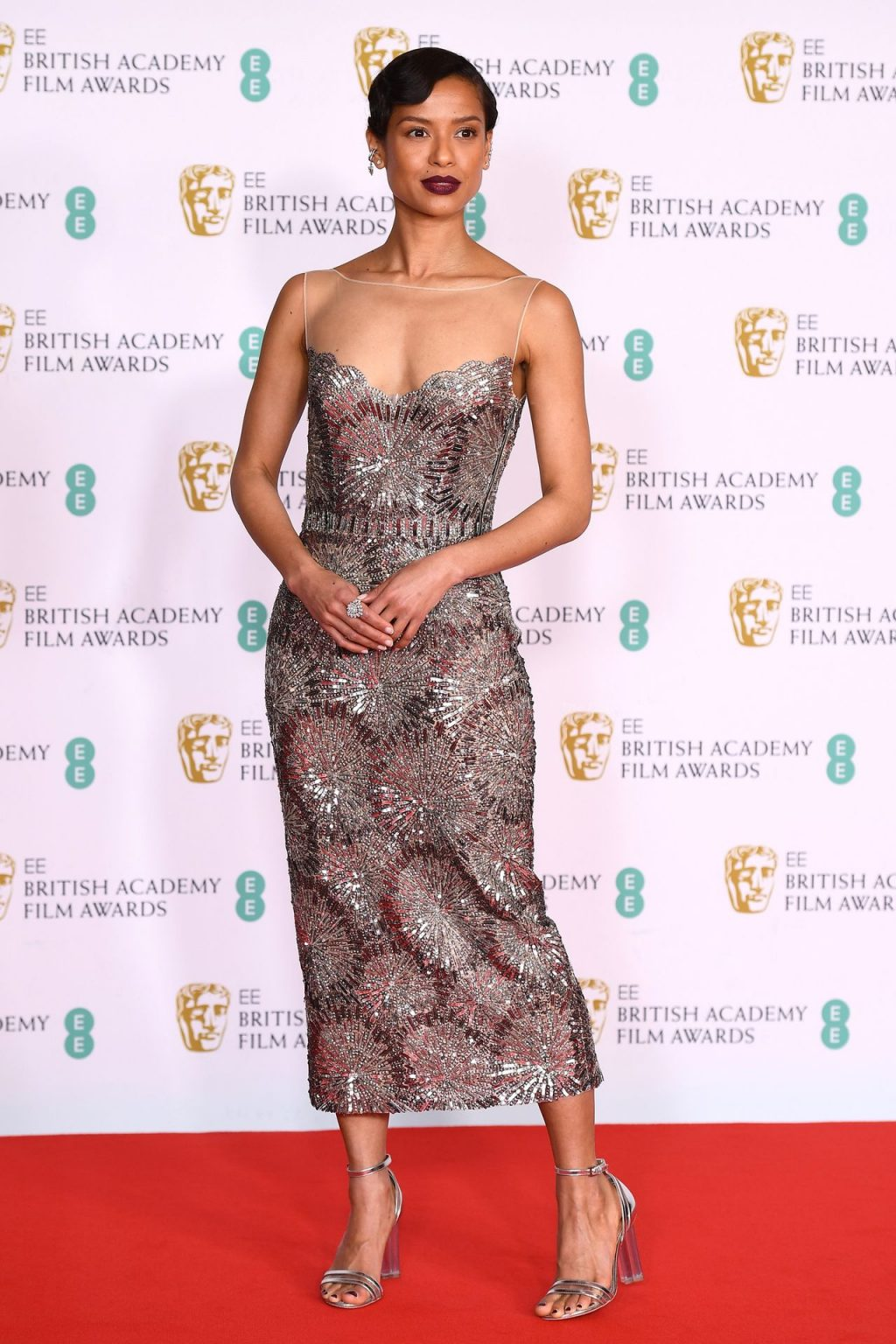 Gugu Mbatha-Raw Stuns On The Red Carpet Of The EE British