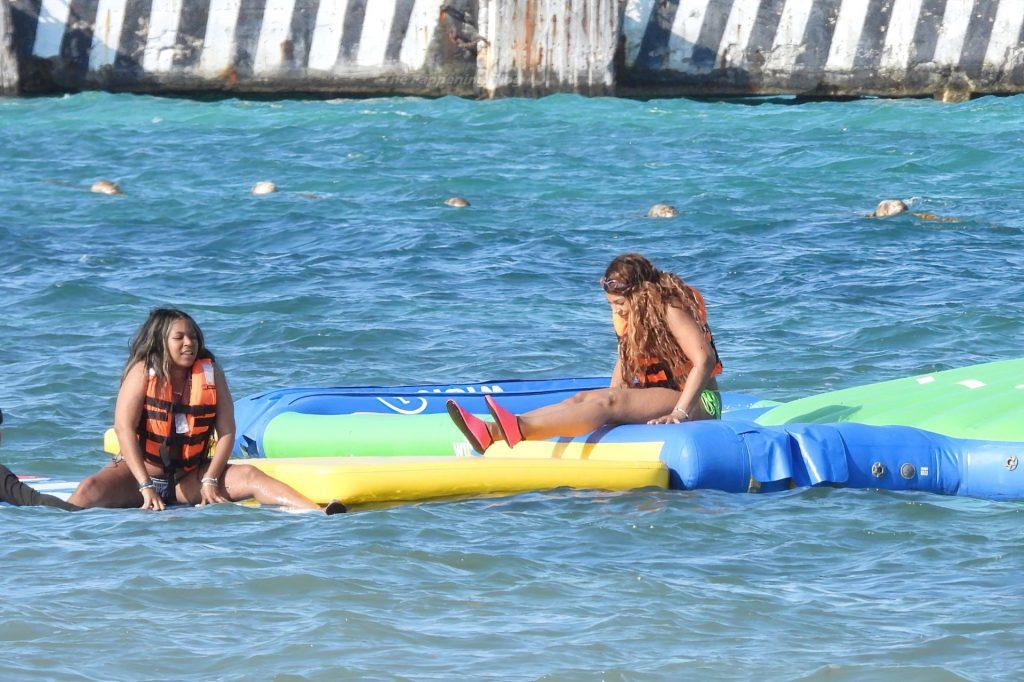 Ashanti Hits The Beach In A Bikini In Tulum (97 Photos
