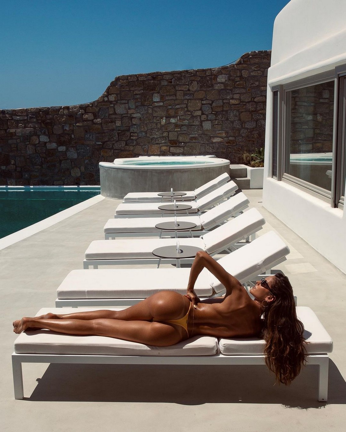 Izabel Goulart Tiny Bikini